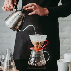 Zwerte Koffie zetten