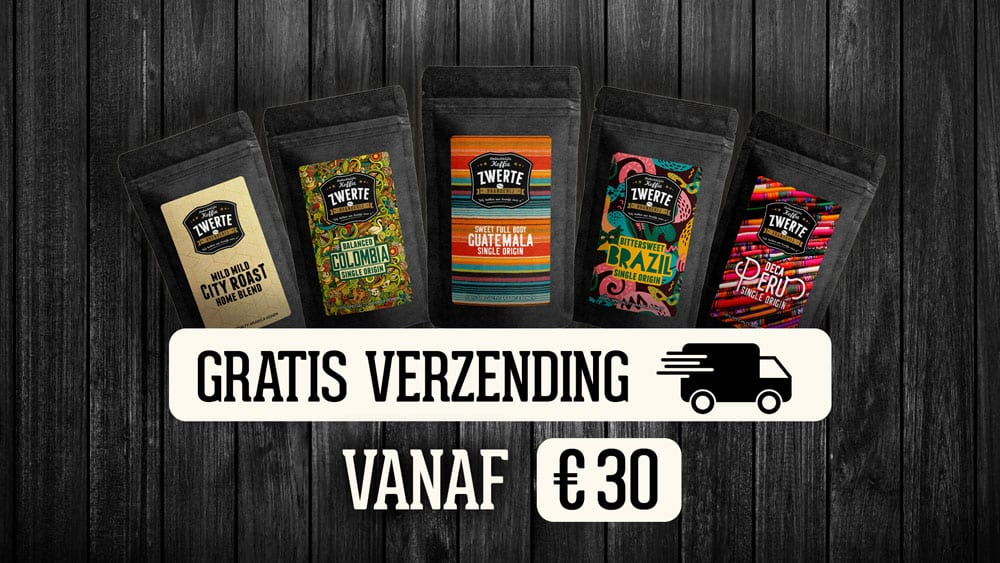 Gratis verzending vanaf 30 euro voor heel Belgie!